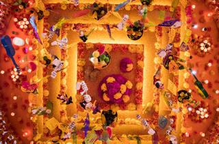 El arte de Coco (Foto: Roberto Beltrán)