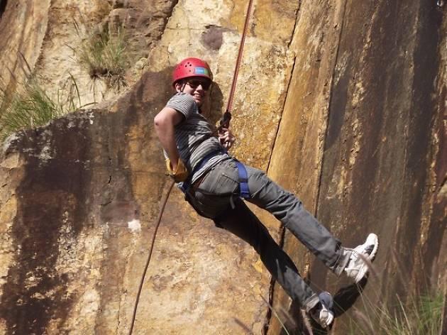 Rock climbing Kangaroo Point Cliffs