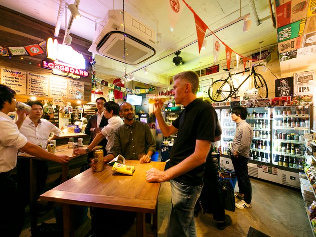 Five of the best liquor stores with bars in Tokyo