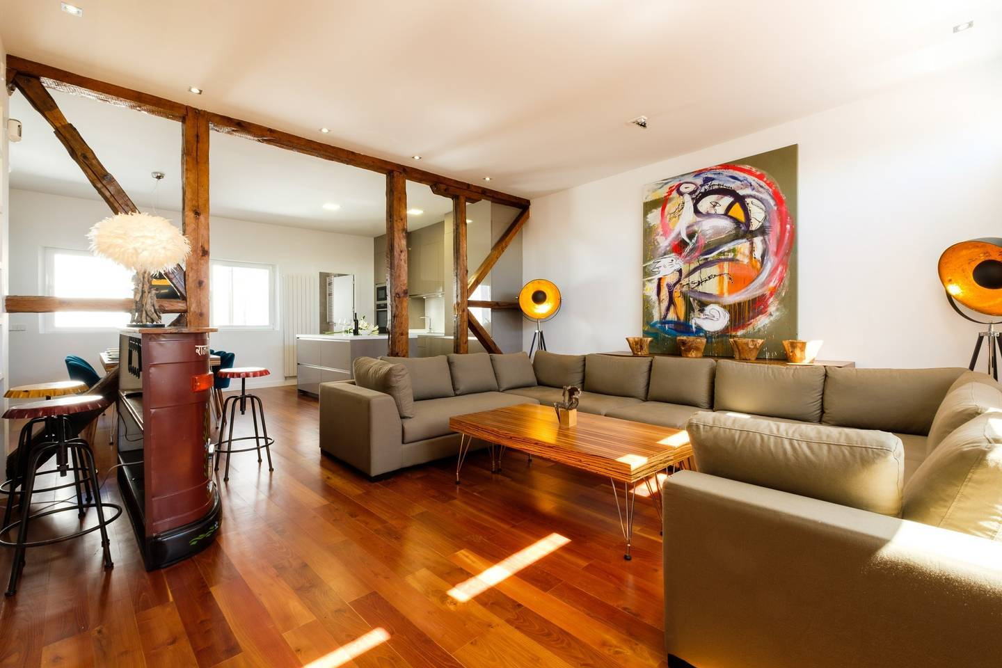 Four-bed penthouse in Chueca