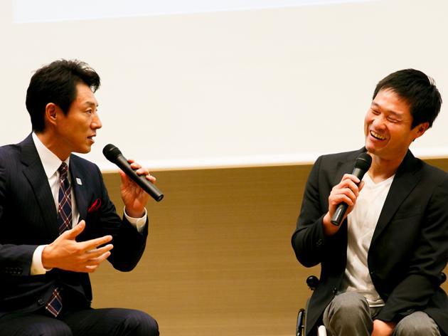松岡修造とパラリンピアンが白熱トーク。「WHO I AMフォーラム with OPEN TOKYO」開催