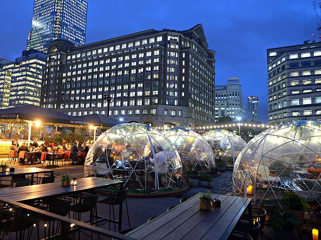 The Sipping Room igloos