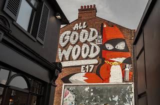 Wood Street mural