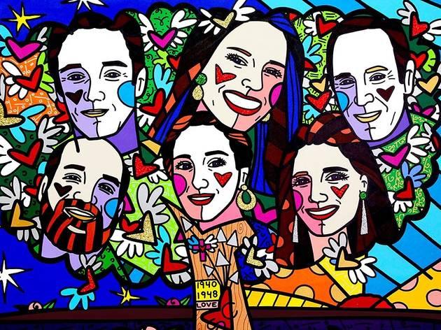 """Romero Britto, """"Portraits"""""""