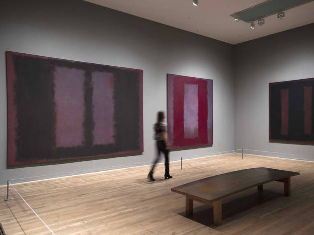 Mark Rothko Black on Maroon 1958 at Tate Modern             © Kate Rothko Prizel and Christopher Rothko/DACS 2014Photocredit: Olivia Hemingway, Tate Photography