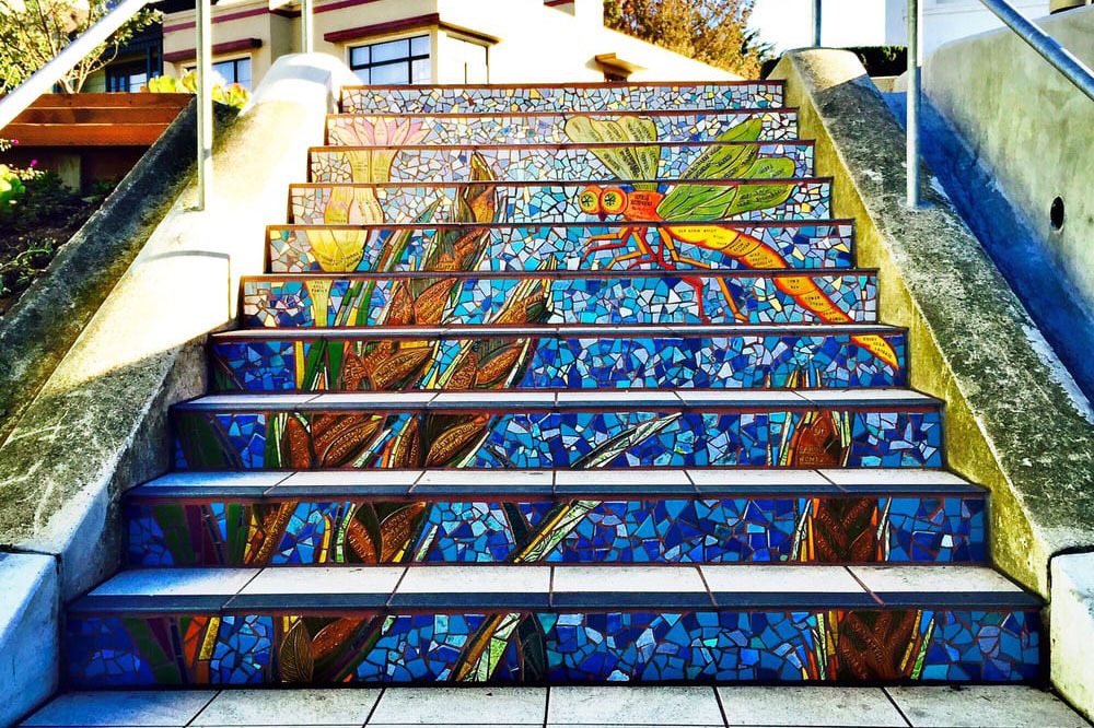 The 10 most beautiful staircases in San Francisco