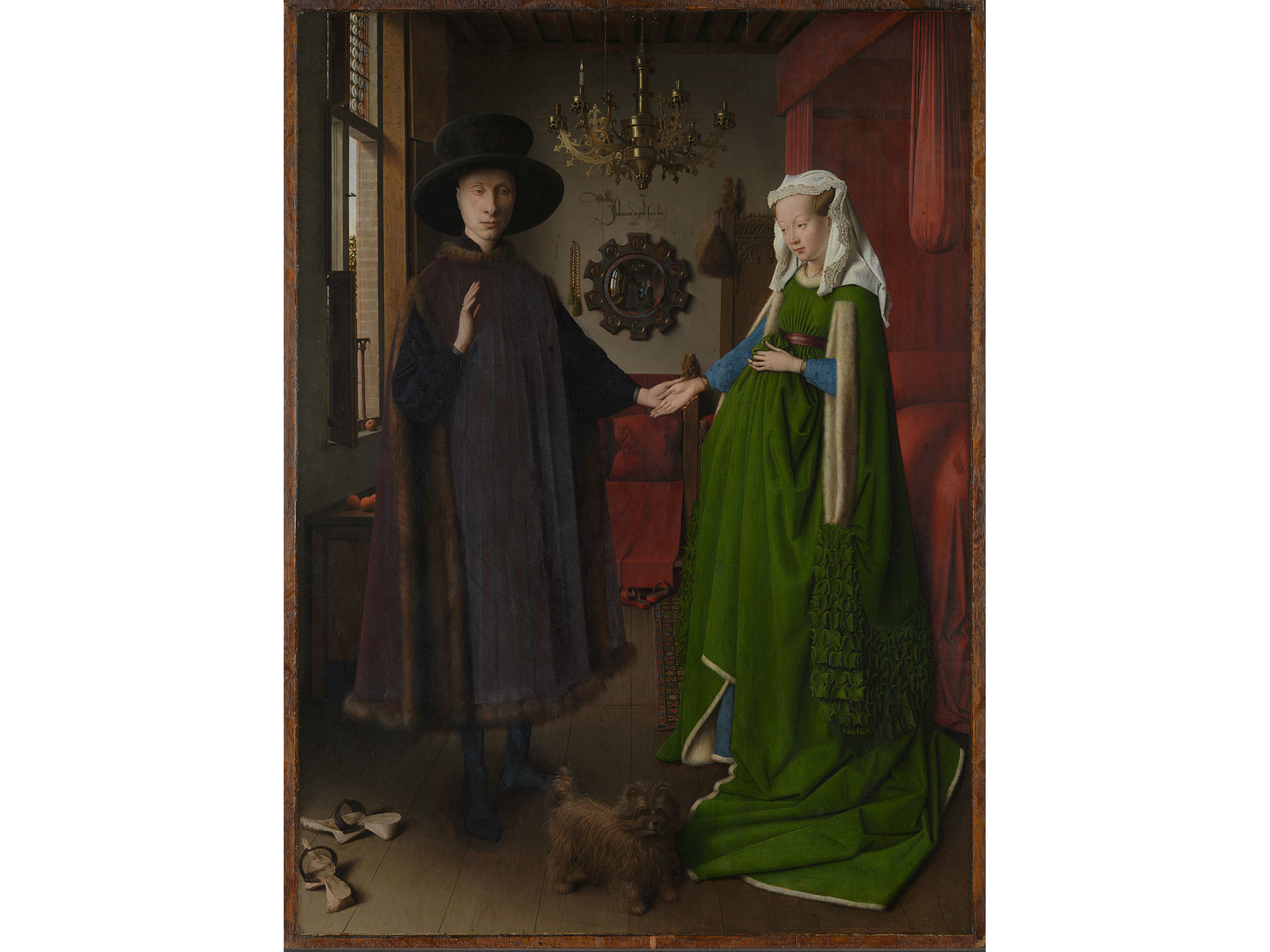 Portrait of Giovanni(?) Arnolfini and his Wife