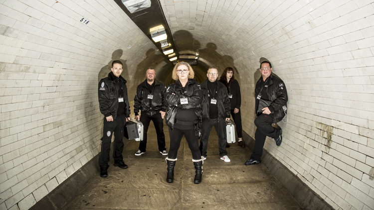 We went ghost hunting in London