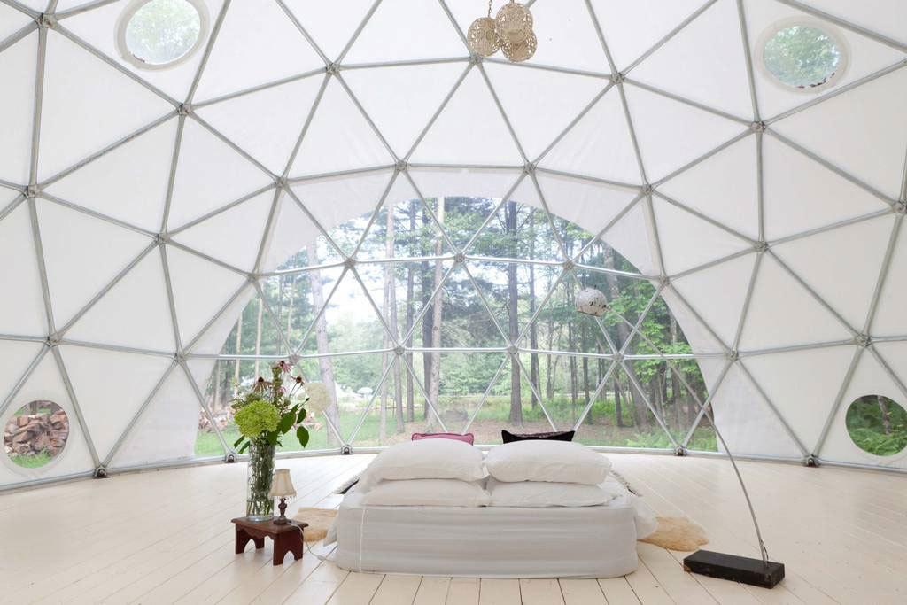 Geodesic dome in Woodridge