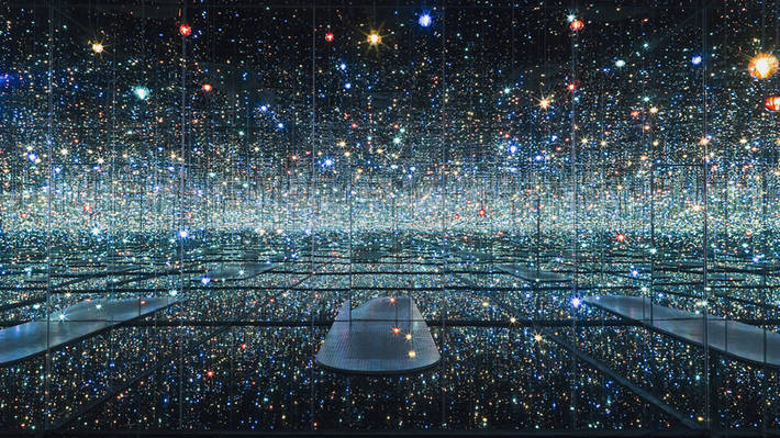 A new immersive Infinity Mirrors exhibit opens in NYC this week