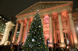 The Royal Exchange Christmas Tree