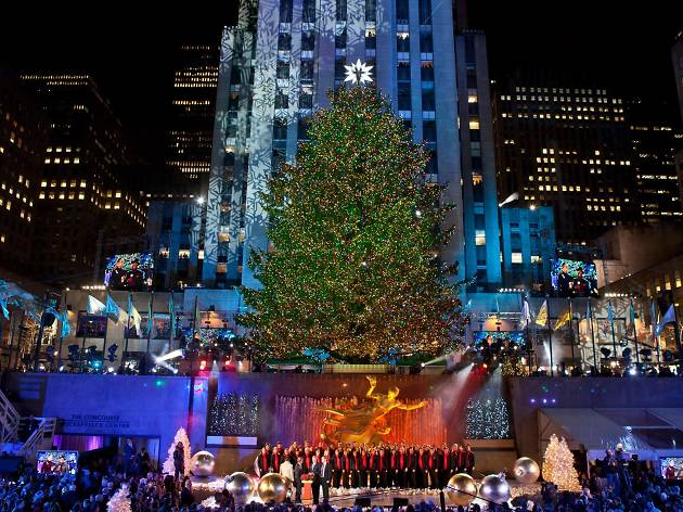 Check out this year's Rockefeller Center Christmas tree