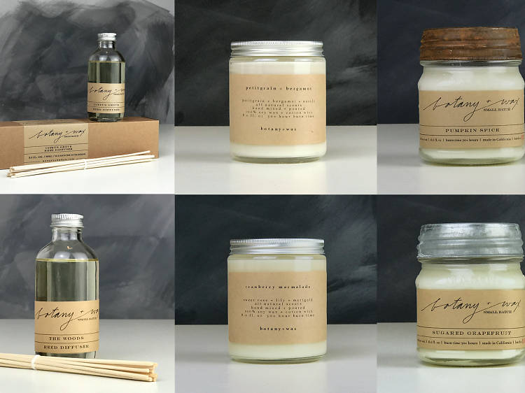Two reed diffusers and four candles from Botany + Wax, $124