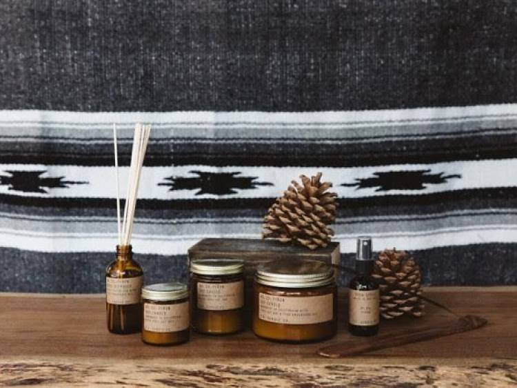 Two P.F. Candle Co candles, reed diffuser and room spray, $152