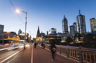 Princes Bridge. Melbourne