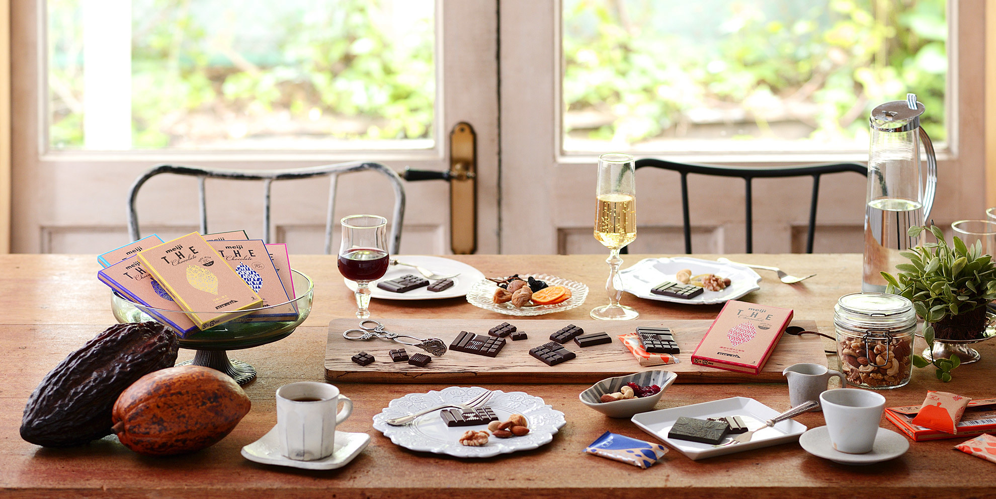 Meiji The Chocolate - from Meiji's website