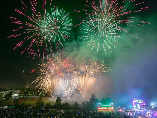 Waltham Forest Fireworks