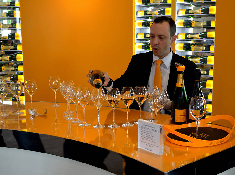 Day Tour of Reims to Veuve Clicquot and Montagne with Champagne Tasting