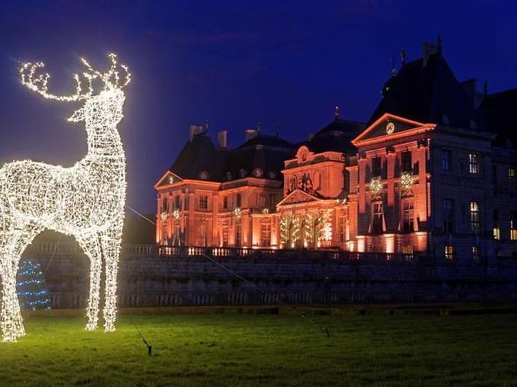 Chateau de Vaux-le-Vicomte Christmas tour