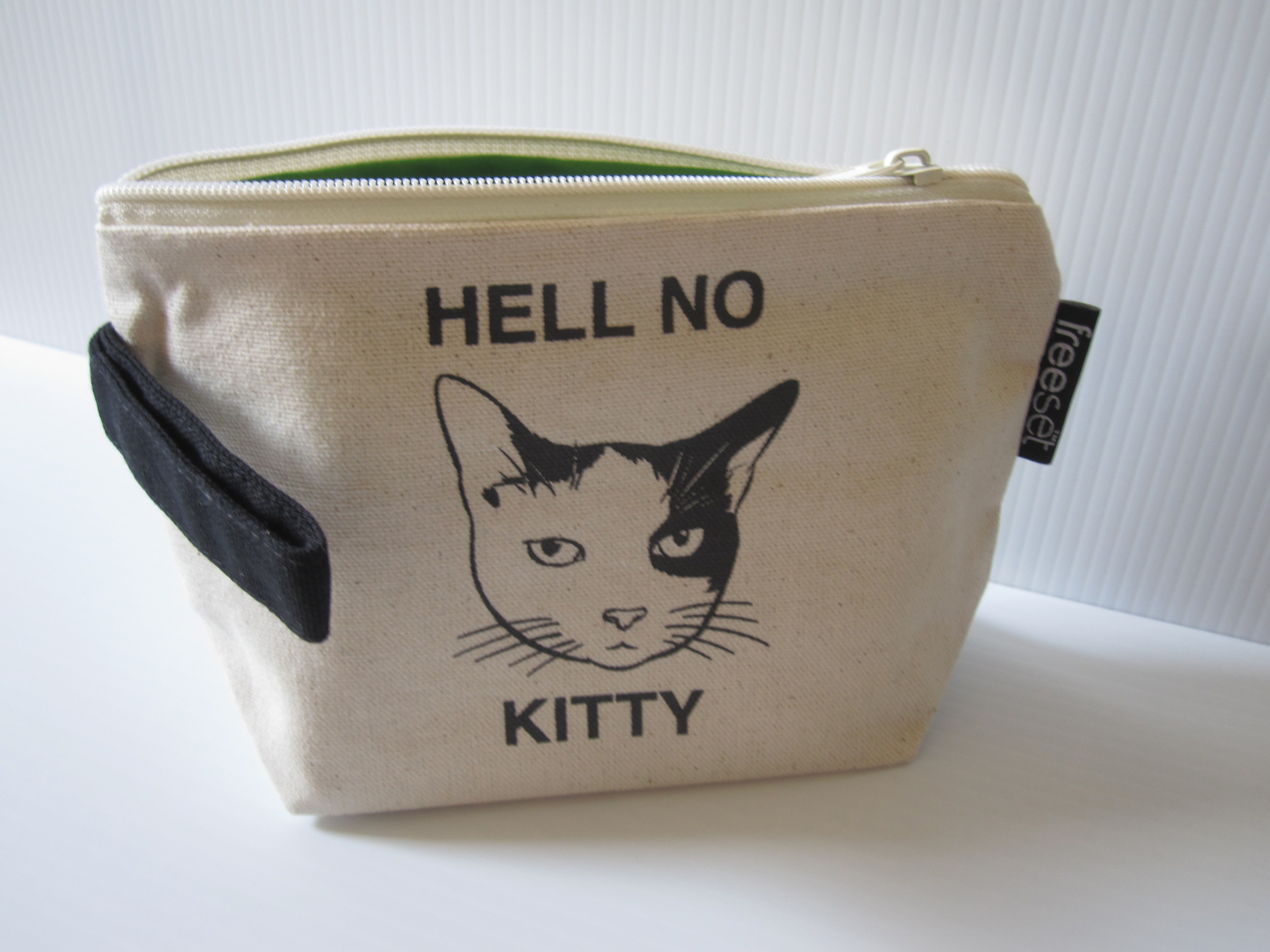 """""""Hell No Kitty"""" Handy Pouch"""