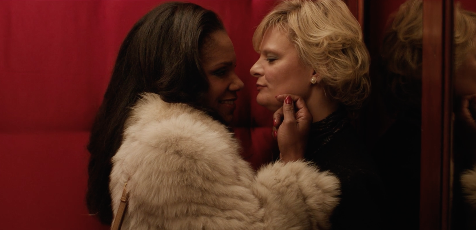 Watch a steamy scene with Broadway stars Audra McDonald and Martha Plimpton