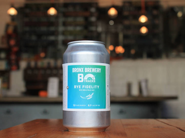Rye Fidelity at the Bronx Brewery