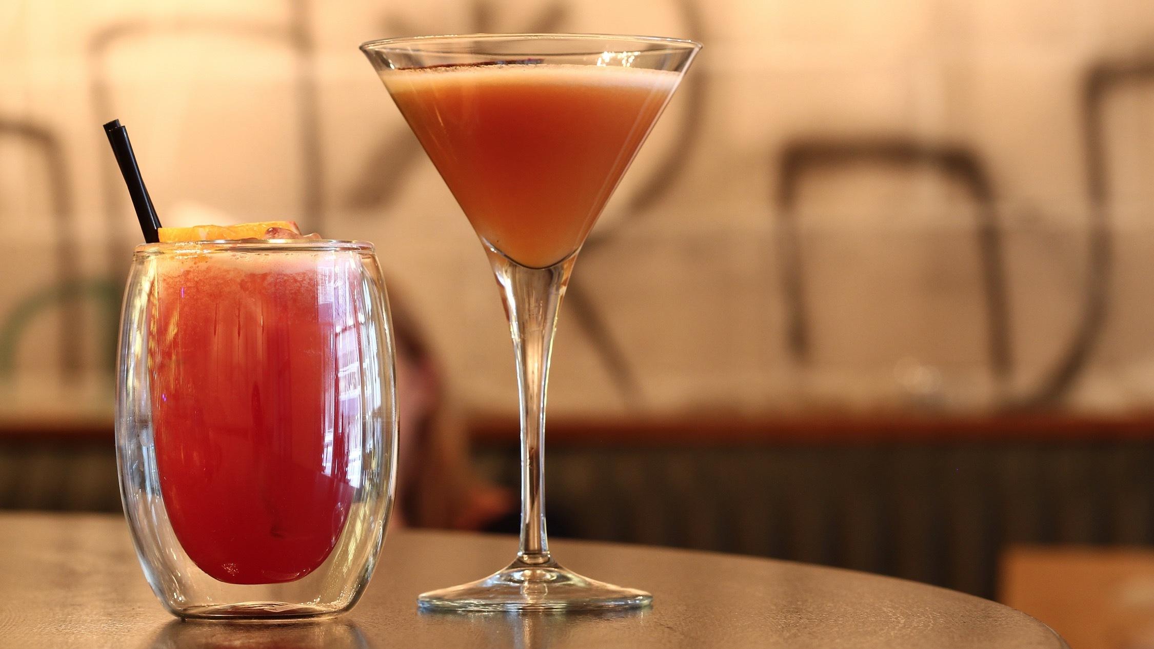 Cocktails at Bar Ampere
