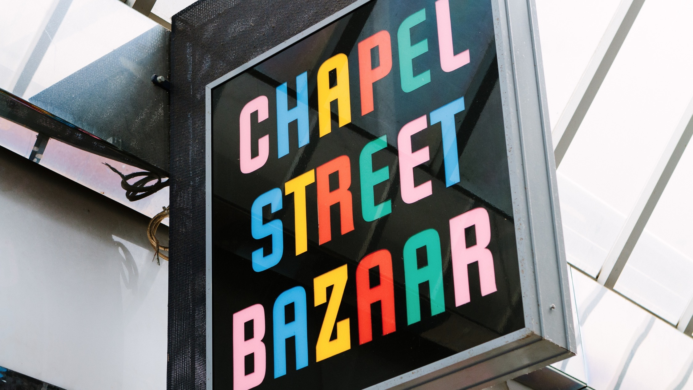 Sign at Chapel Street Bazaar
