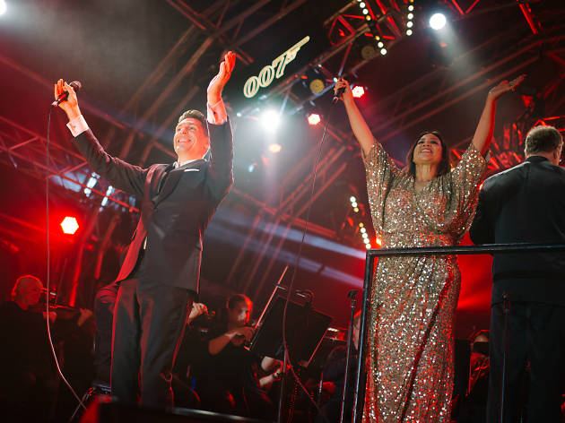 Kate Ceberano and Michael Falzon
