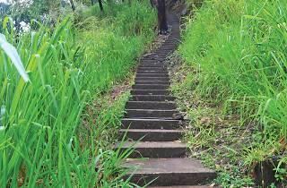 Pathway leading to the Ravana Cave