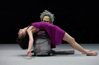 We watched this dancer simulate sex with a vacuum cleaner – and loved it
