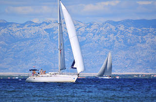 Sailing in Kvarner