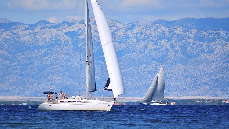 Sailing in Kvarner