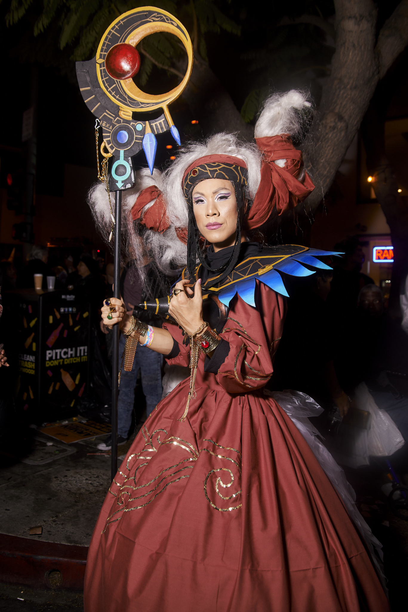 Hollywood Halloween Carnaval Costume Contest