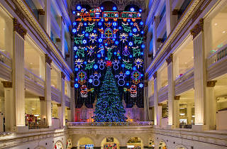 Macy's Christmas Light Show