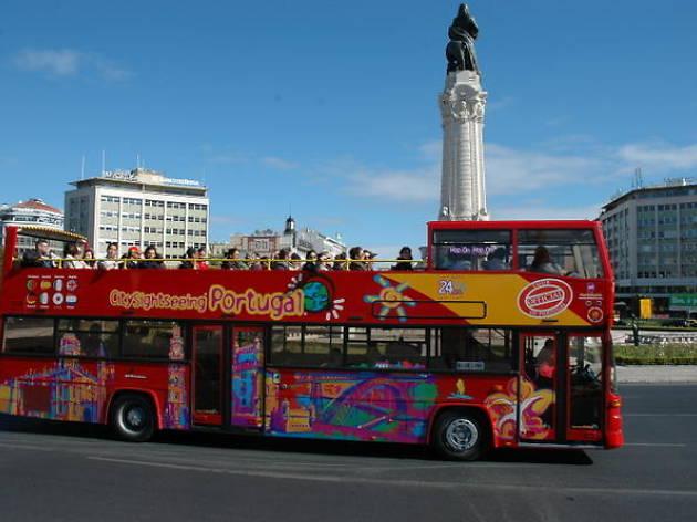 Lisbon hop-on-hop-off tours- Lisbon city sightseeing