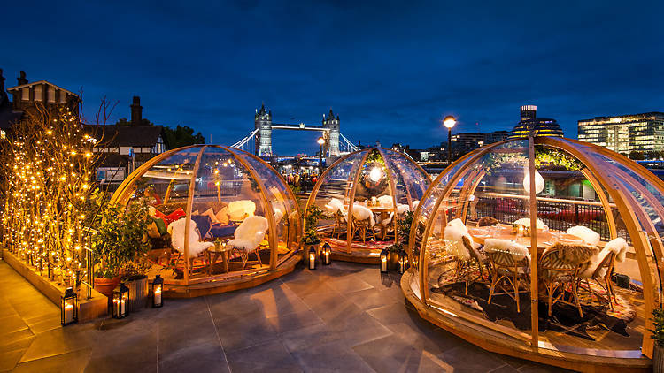The cosiest winter pop-ups in London