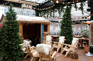 A Winter Wonderland In A Rooftop Restaurant Opens At Eataly Tomorrow