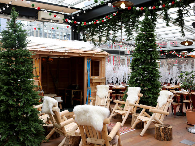 The Rooftop Christmas Tree.A Winter Wonderland In A Rooftop Restaurant Opens At Eataly