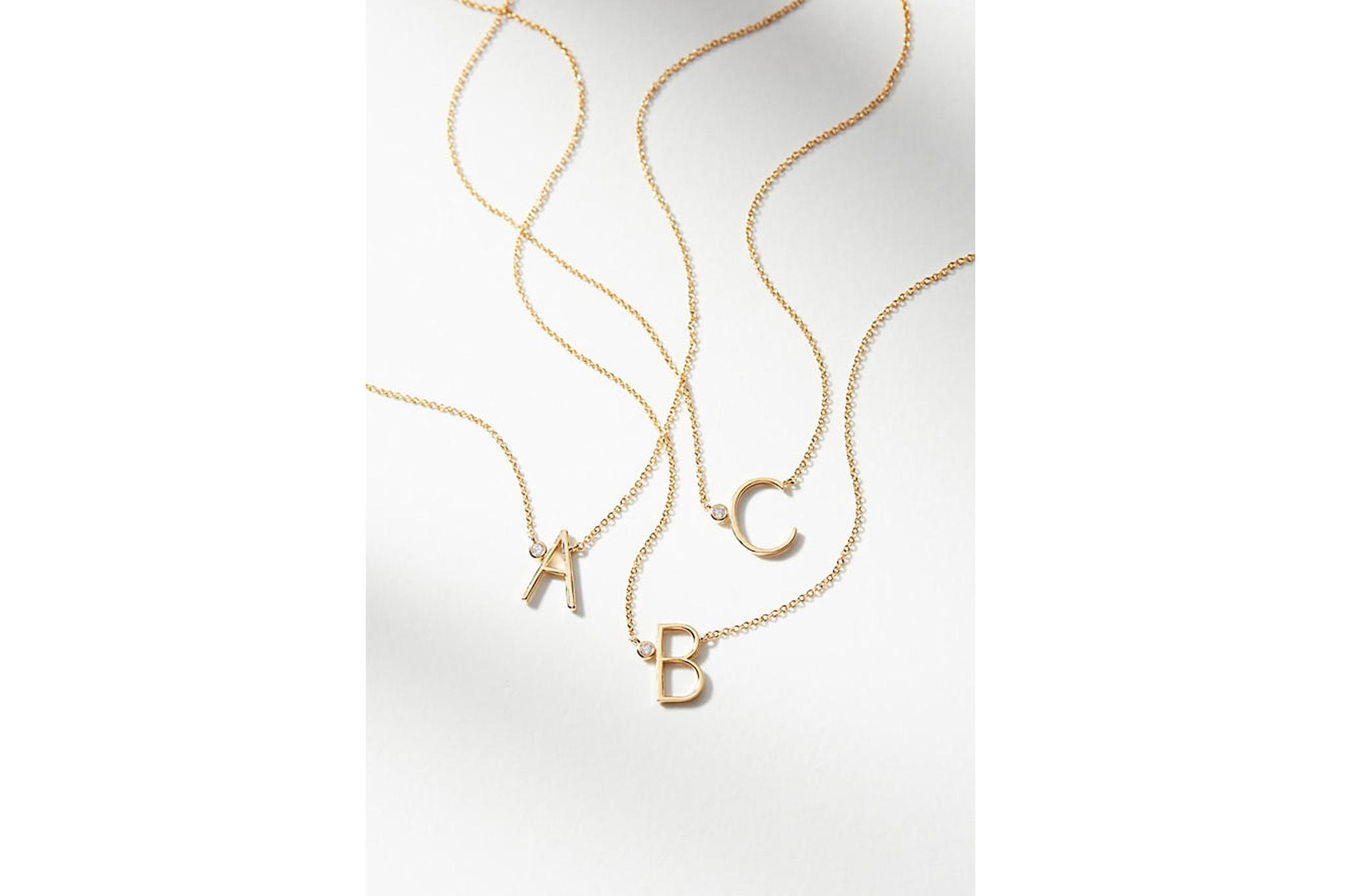 Delicate Monogram Necklace