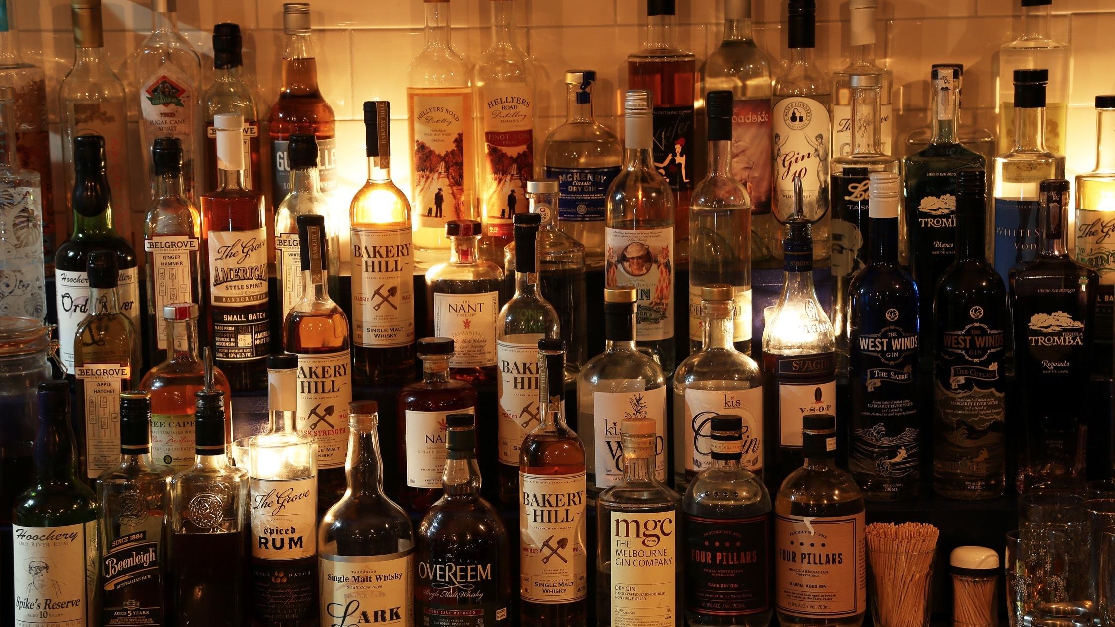 Bar at Bad Frankie