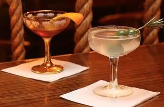 Cocktails at Bad Frankie