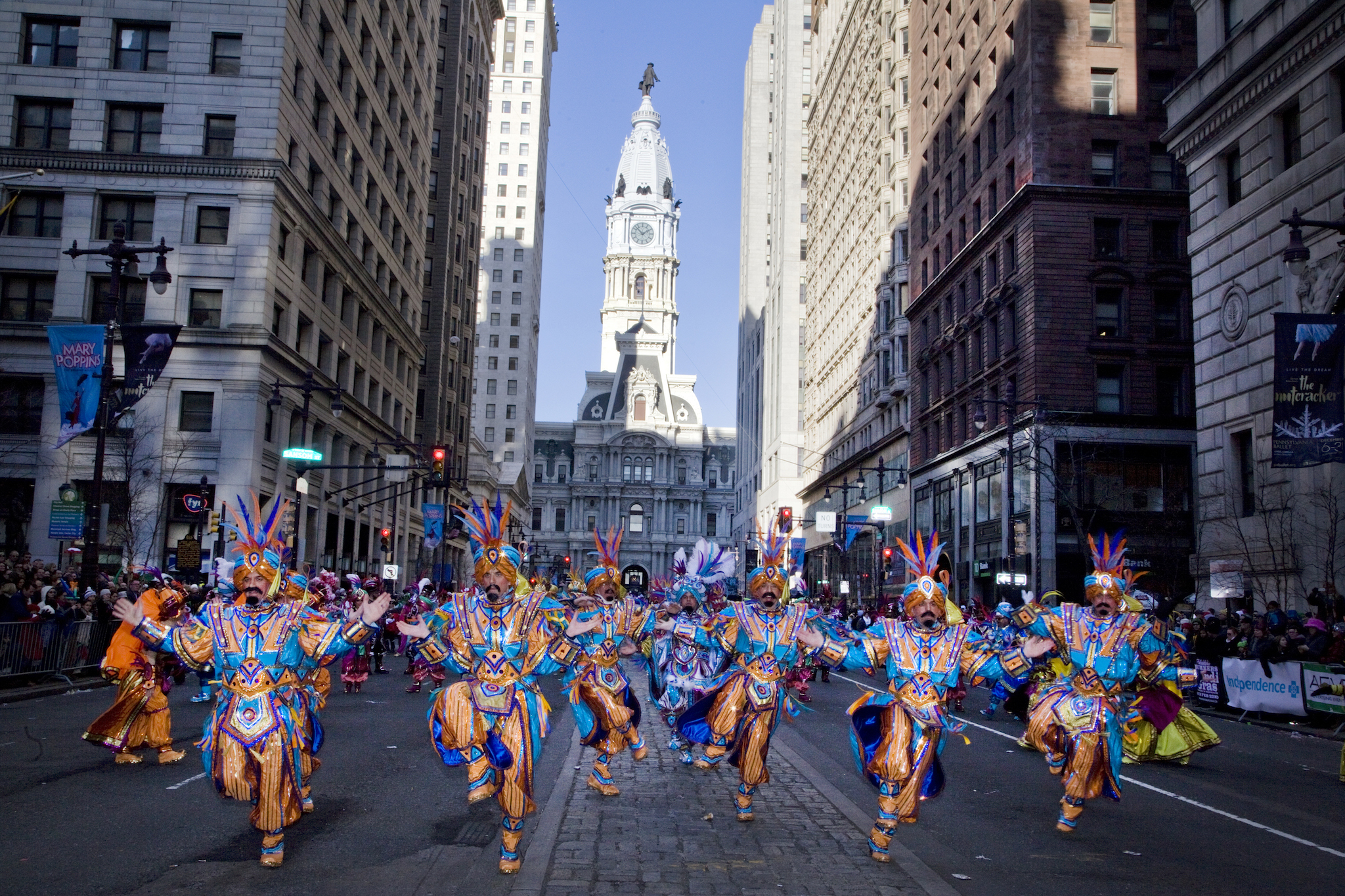 Go to the 2018 Mummers Parade