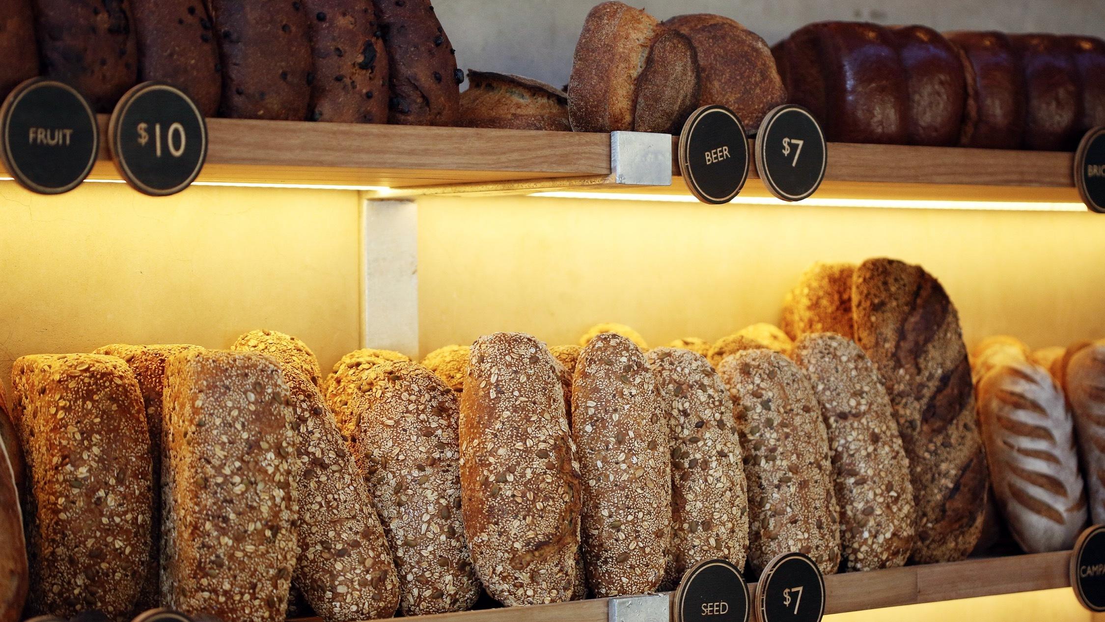 Food at Burnham Bakery and Piggery Café