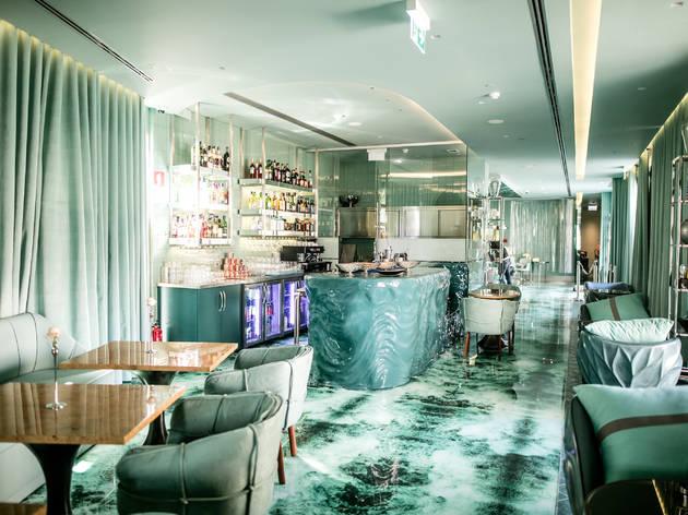 Banho, o restaurante