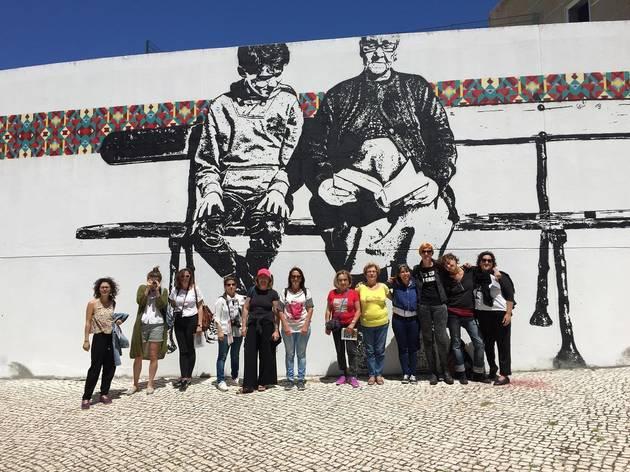 Visita guiada à Arte Urbana Bº. Padre Cruz