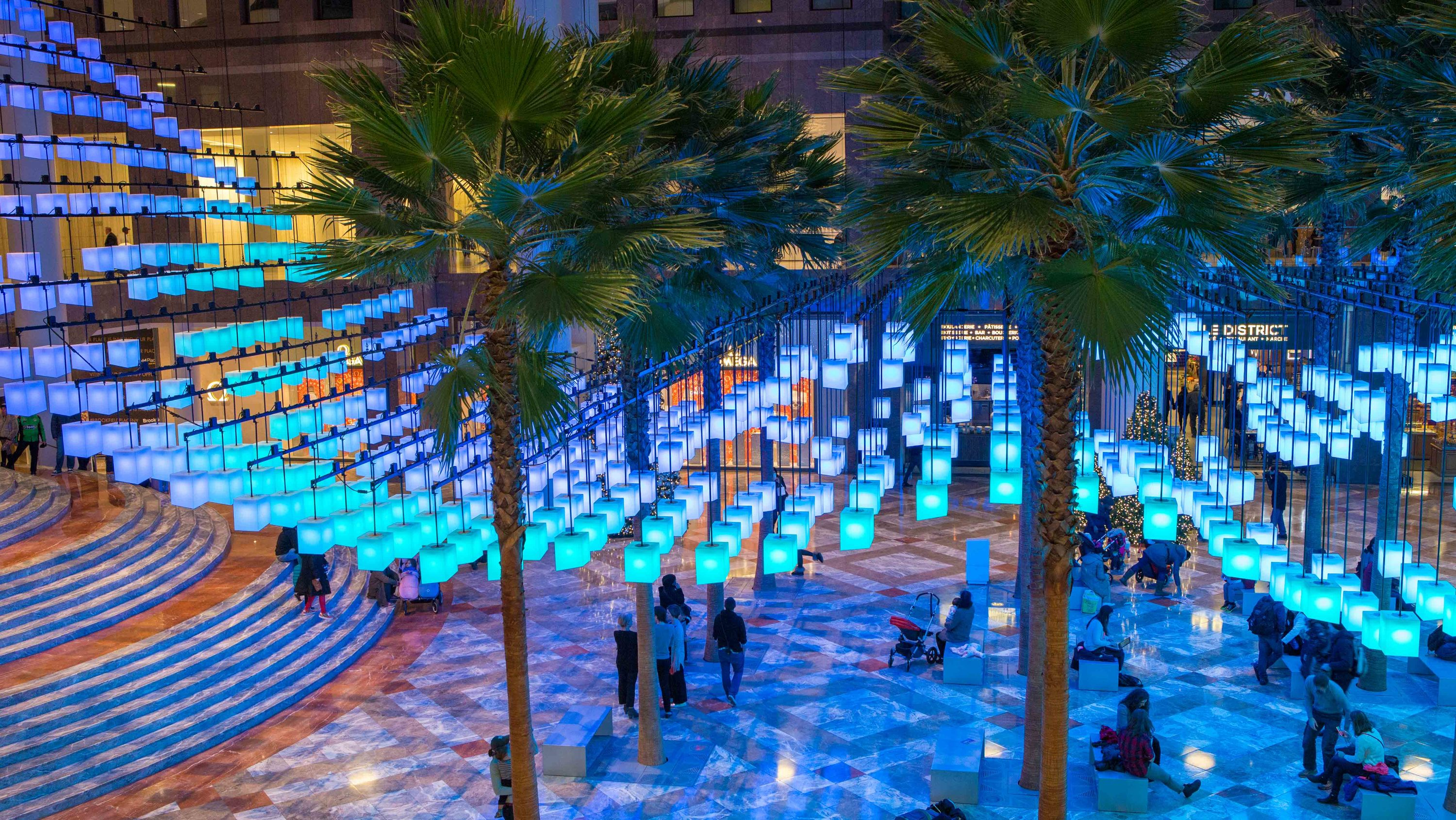 A Dazzling Light Installation Is Coming To Brookfield