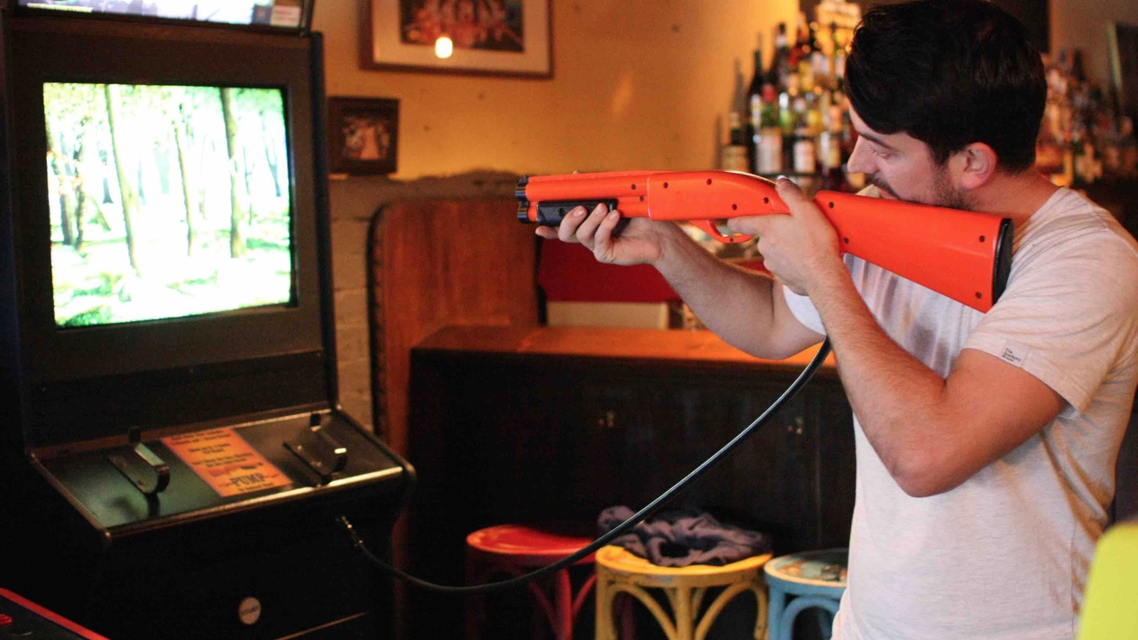 Big Buck Hunter at Pixel Alley
