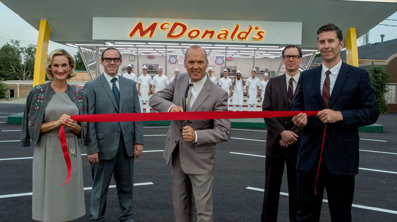 Hambre de poder, Michael Keaton, Película biográfica, Mc Donald's