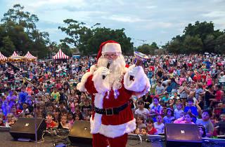 Santa Sydney Christmas concert
